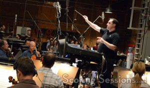 Kraemer conducting his score