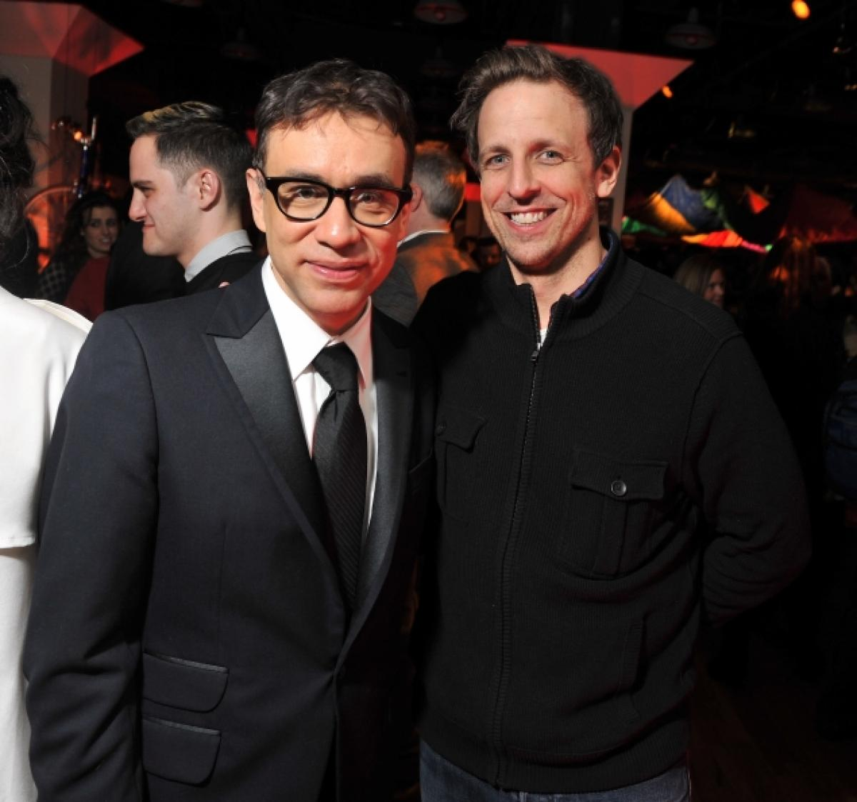 Fred Armisen gives the skinny on his new gig (as well as an education in punk rock)